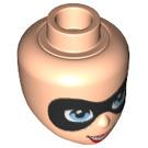 LEGO Light Flesh Harley Quinn Female Minidoll Head (29399)