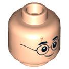 LEGO Light Flesh Harry Potter Plain Head (Recessed Solid Stud) (39341)