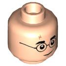LEGO Light Flesh Harry Potter Plain Head (Recessed Solid Stud) (53127)