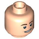 LEGO Light Flesh Henry Plain Head (Recessed Solid Stud) (33906)
