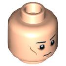 LEGO Light Flesh Imperial Officer Plain Head (Recessed Solid Stud) (19646)