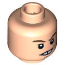 LEGO Light Flesh Neville Longbottom Head (Recessed Solid Stud) (97825)