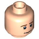 LEGO Light Flesh Pippin Head (Recessed Solid Stud) (10570)