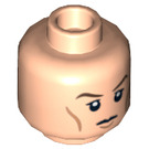 LEGO Light Flesh Plain Head with Decoration (Recessed Solid Stud) (10685)