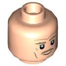 LEGO Light Flesh Plain Head with Decoration (Recessed Solid Stud) (39142)