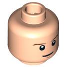 LEGO Light Flesh Plain Head with Decoration (Safety Stud) (10263 / 88820 / 92055)