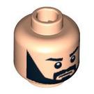 LEGO Light Flesh Plain Head with Decoration (Safety Stud) (88572)
