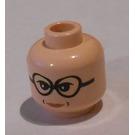 LEGO Light Flesh Professor Trelawney Head (Safety Stud)