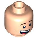 LEGO Light Flesh Robin - Laughing Plain Head (Recessed Solid Stud) (29385)