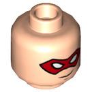 LEGO Light Flesh Robin Plain Head (Recessed Solid Stud) (36856)