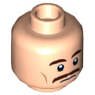 LEGO Light Flesh Security Guard - From Lego Batman Movie Plain Head (Recessed Solid Stud) (29984)