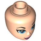 LEGO Light Flesh Super Girl Female Minidoll Head (29441)