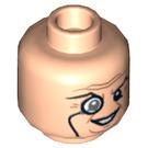 LEGO Light Flesh The Penguin Head (Recessed Solid Stud) (13490)