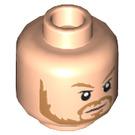 LEGO Light Flesh Thor Plain Head (Recessed Solid Stud) (34512)