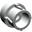 LEGO Light Gray Extension for Transmission Driving Ring (32187)