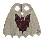 LEGO Fabric Scalloped Cape with Bat