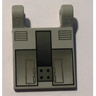 LEGO Light Gray Flag 2 x 2 with Bomb Bay Door