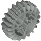 LEGO Light Gray Gear with 20 Teeth and Double Bevel Unreinforced (32269)