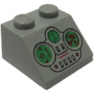 LEGO Light Gray Slope 2 x 2 (45°) with Naboo Fighter Control