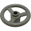 LEGO Light Gray Small Steering Wheel (2819)