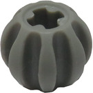 LEGO Light Gray Technic Gear Ball with Grooves (2907)