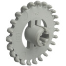 LEGO Light Gray Technic Gear with 24 Teeth (Crown) without Reinforcements (3650)
