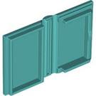 LEGO Light Turquoise Book 2 x 3 (33009)
