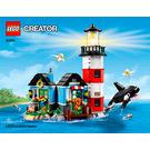 LEGO Lighthouse Point Set 31051 Instructions