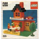 LEGO Lighting Bricks, 4.5V Set 816 Instructions