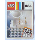LEGO Lighting Device Parts Pack Set 985 Instructions