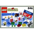 LEGO Lighting Set, 9V Set 846