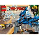 LEGO Lightning Jet Set 70614 Instructions