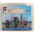 LEGO Lille, France, Exclusive Minifigure Pack Set LILLE