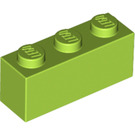 LEGO Lime Brick 1 x 3 (3622)