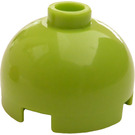 LEGO Brick 2 x 2 Round with Dome Top (Hollow Stud with Bottom Axle Holder x Shape + Orientation) (18841 / 30367)