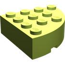 LEGO Brick 4 x 4 Corner Round (2577)