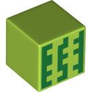 LEGO Figure Head with Minecraft Watermelon (19729 / 37060)