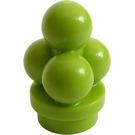 LEGO Lime Minifig Ice Cream Scoops (6254)