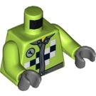 LEGO Lime Pit Crew Torso (76382)