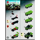 LEGO Lime Racer Set 8192 Instructions