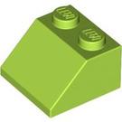 LEGO Lime Slope 45° 2 x 2 (3039)