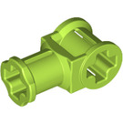 LEGO Lime Technic Through Axle Connector with Bushing (32039)
