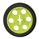 LEGO Lime Wedge Belt Wheel with Tire for Wedge-Belt Wheel/Pulley