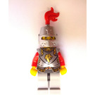LEGO Lion Knight Armor, Helmet Closed Chess Bishop Castle Minifigure