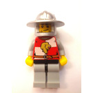LEGO Lion Knight Quarters, Helmet with Broad Brim Chess Pawn Castle Minifigure
