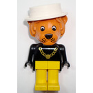 LEGO Lionel Lion with White Hat Fabuland Figure