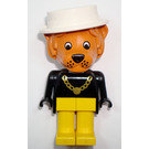 LEGO Lionel Lion with White Hat Fabuland Minifigure