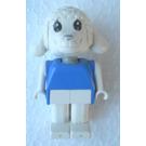 LEGO Lisa Lamb with Blue Top Fabuland Figure