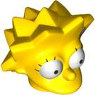 LEGO Lisa Simpson Minifig Head (20624)