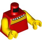 LEGO Lisa Simpson Torso (76382 / 88585)